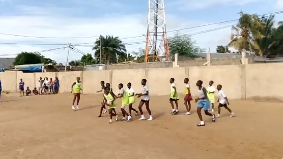 Updates from coaches in Ghana