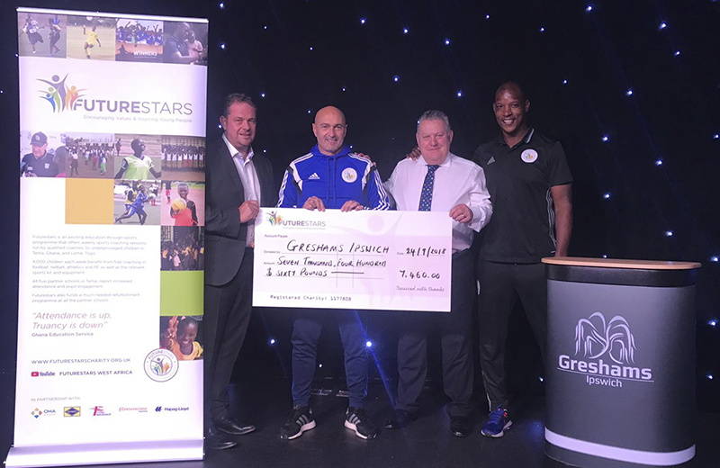 Thank you to Gresham's Ipswich